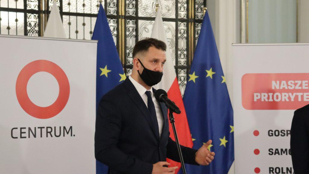 Stowarzyszenie Centrum. Lubuski poseł Łukasz Mejza ogłosił powstanie nowej politycznej siły
