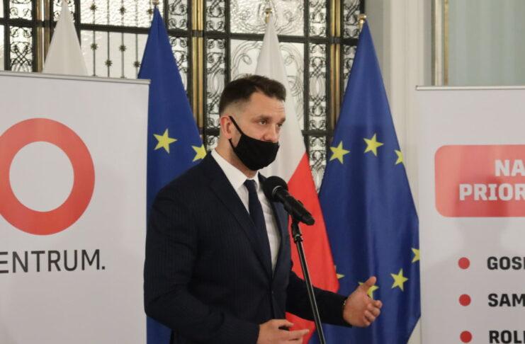 Łukasz Mejza ogłasza powstanie stowarzyszenia Centrum