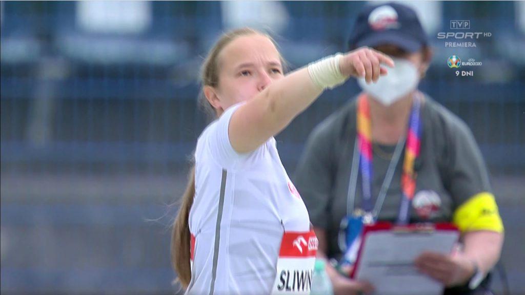 Lekkoatletka Renata Śliwińska z medalami na mistrzostwach Europy w Bydgoszczy