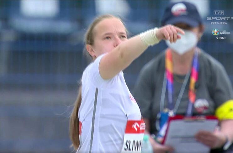 Renata Śliwińska na Mistrzostwach Europy w Bydgoszczy