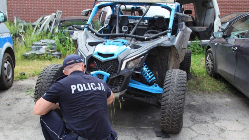Wypadek w Żarach. 26-latek potrącił pieszego na Hallera i uciekł