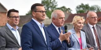 Mateusz Morawiecki na pikniku w Swarzynicy