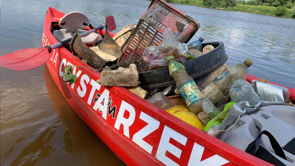 Operacja Rzeka w Lubuskim i Wielkopolsce. 16-18 lipca sprzątanie Warty Obry i Noteci