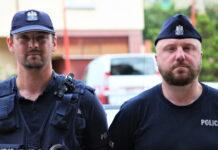 Policjanci z Żar wyważyli drzwi aby pomóc choremu mężczyźnie