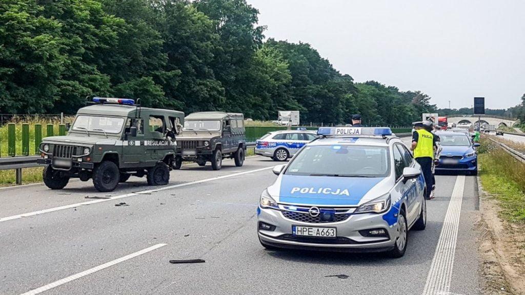 Poważny wypadek na S3. W zdarzeniu między Zieloną Górą a Nową Solą ucierpiało sześcioro dzieci