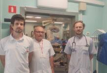 Zespół kardiologów ze Szpitala Uniwersyteckiego w Zielonej Górze