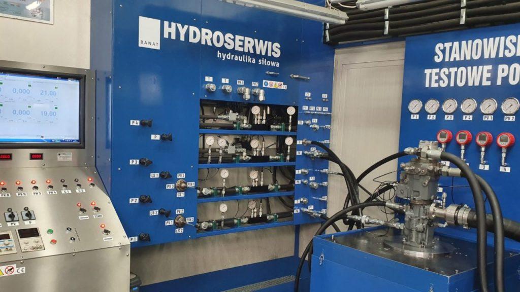 Regeneracja i naprawa rozdzielaczy hydraulicznych