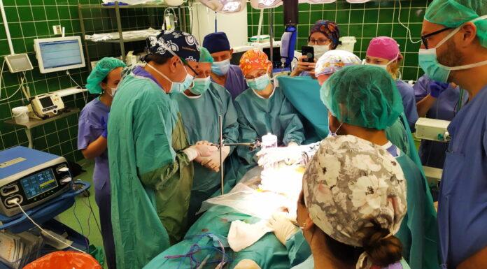 Operacja w Szpitalu Uniwersyteckim w Zielonej Górze